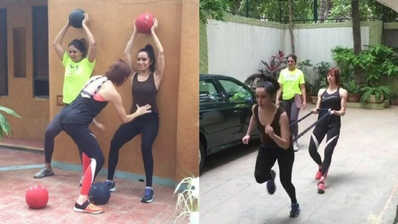 Shraddha Kapoor and her trainer Cindy Jordan