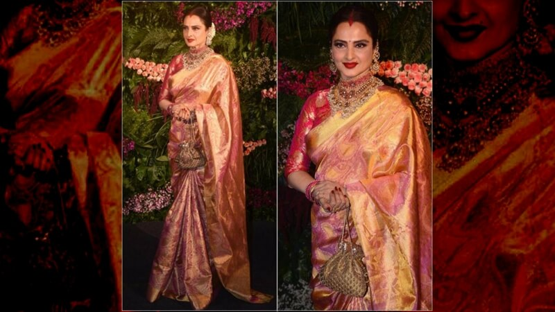 Rekha's Traditional Saree