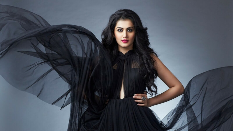 Taapsee in black