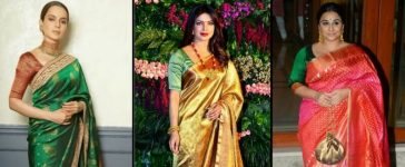 Actresses In Stunning Silk Sarees