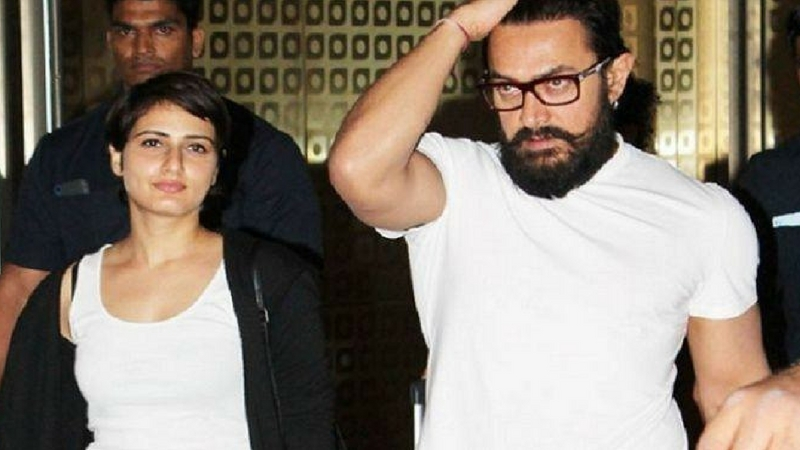 Sana Shaikh with Aamir Khan