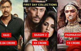 First Day Bollywood Collections 2018
