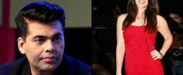Karan johar disappointed