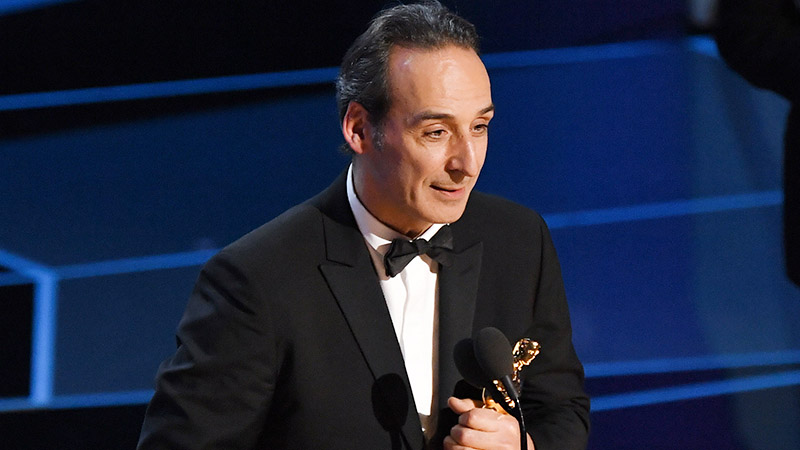The Oscar for Best Original Score goes to Alexandre Desplat for 'The Shape of Water'.