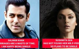 Celebrities who are happy being single