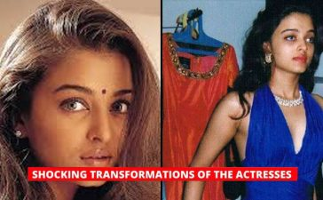 actress transformations