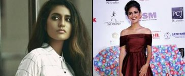 Priya Prakash recieves Viral Personality of the Year Award