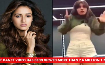 Disha Patani Dance Video