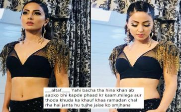 Hina Khan Hurt Muslim Sentiments