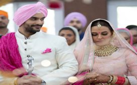 Neha Dhupia Married