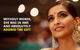 Sonam Kapoor Proposal Gift