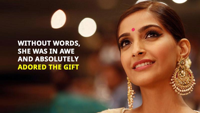 Sonam Kapoor Proposal Gift