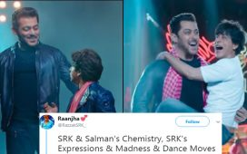 Salman Khan And Shahrukh Khan In Teaser Of Zero