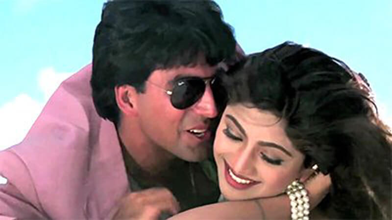 Shilpa Shetty And Akshay Kumar