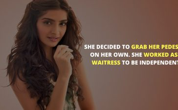 Sonam Kapoor Unknown Facts