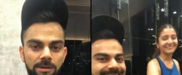 Virat Kohli And Anushka Sharma Working Out Together