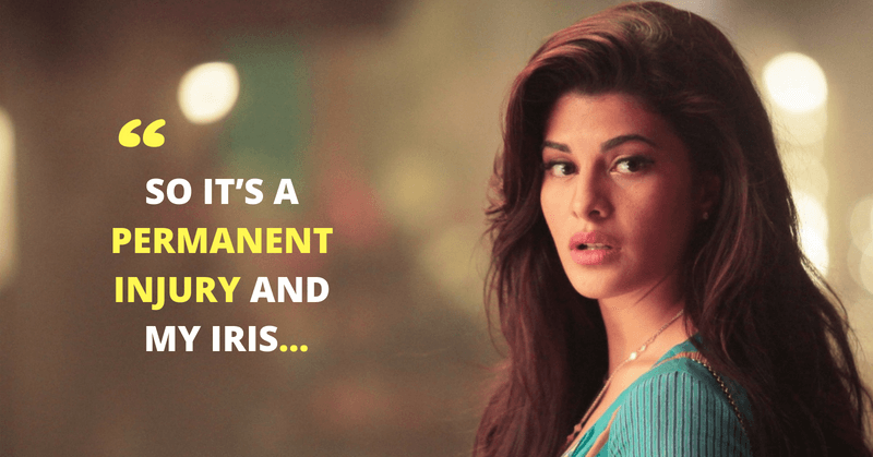 Jacqueline Fernandez Suffers A 'Permanent Eye Injury'