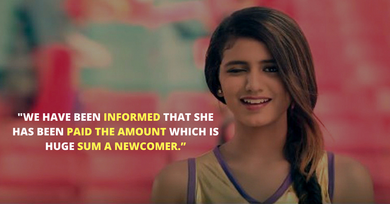Priya Prakash Varrier Advertisement