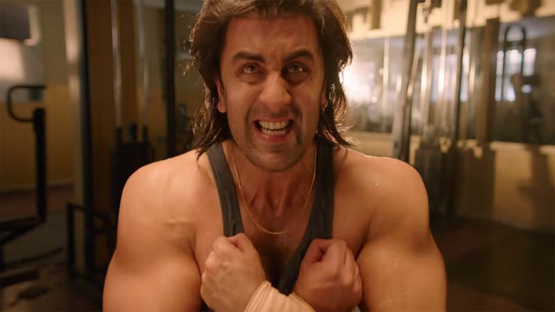 Ranbir Kapoor Transformed Into Sanjay Dutt