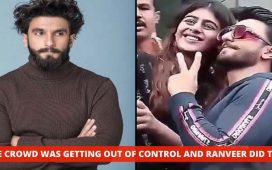 Ranveer Singh Saved Female Fans