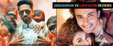 Andhadhun Loveyatri Reviews