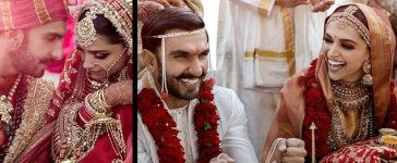 Ranveer Singh And Deepika Padukone Wedding Pics