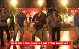Salman, Sohail And Arbaaz Khan Make Fans Go Crazy With Their Dance At Christmas Bash