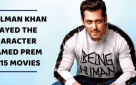 Salman Khan as Prem