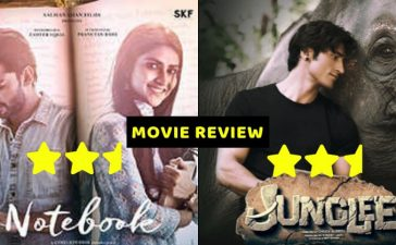 JUNGLEE NOTEBOOK MOVIE REVIEW
