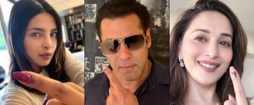 Bollywood Celebs Vote Elections 2019