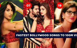 FASTEST Indian SONGS TO 100M VIEWS