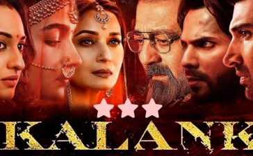 Kalank Review Cover