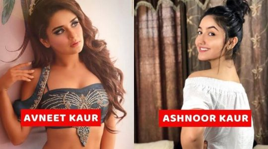 Young TV Actresses