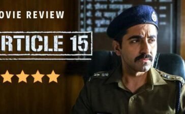 Movie Article 15 Review