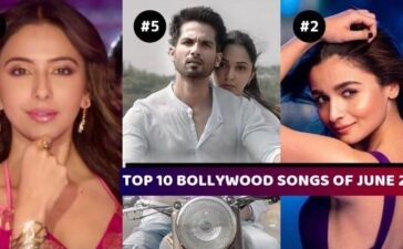 TOP 10 BOLLYWOOD SONGS JUNE