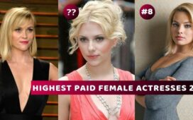 HIGHEST-PAID FEMALE ACTRESSES 2019