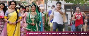 Bigg Boss Contestants in Bollywood movies