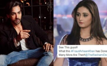 Arhaan Khan, Rashami Desai Bank Statement Leaked