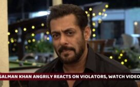 Salman Khan Video Lockdown Violators