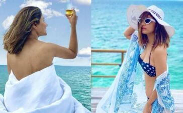 Hina Khan Holdiays In Maldives