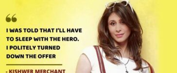 Kishwer Merchant on Casting Couch