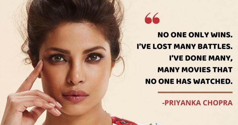 Priyanka Chopra On Failures