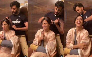 Riteish Deshmukh Hairstylist For Genelia