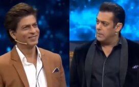 Shah Rukh Khan Salman Khan Old Video