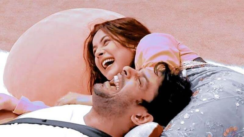 Shehnaaz Sidharth Laughing Together