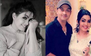 Shubhangi Atre Husband Piyush Poorey