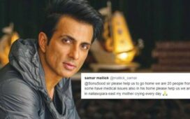 Sonu Sood helping migrant workers