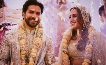 Varun Dhawan Natasha Dalal Marriage Photos