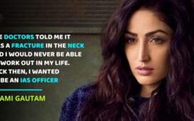 Yami Gautam on Accident