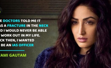 Yami Gautam on Accident